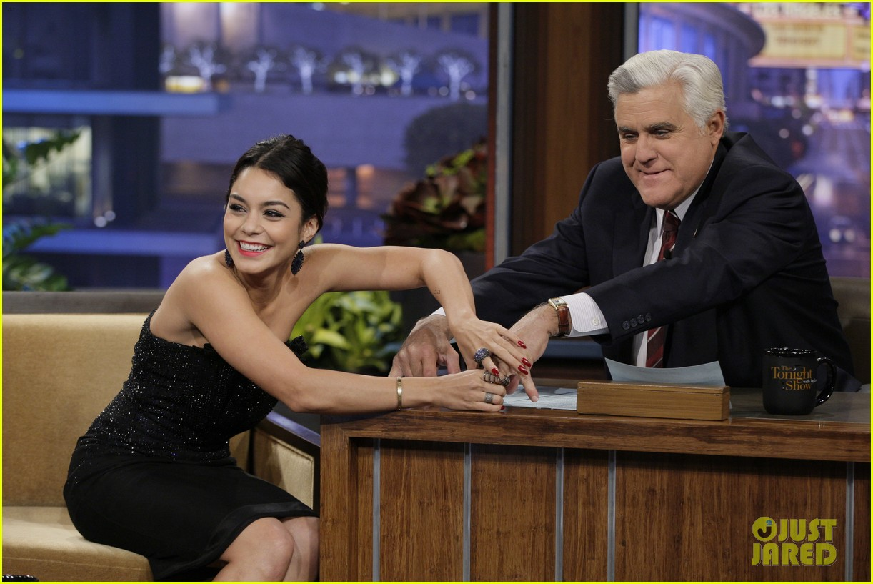 vanessa hudgens hangs with austin butler before leno taping 023032278