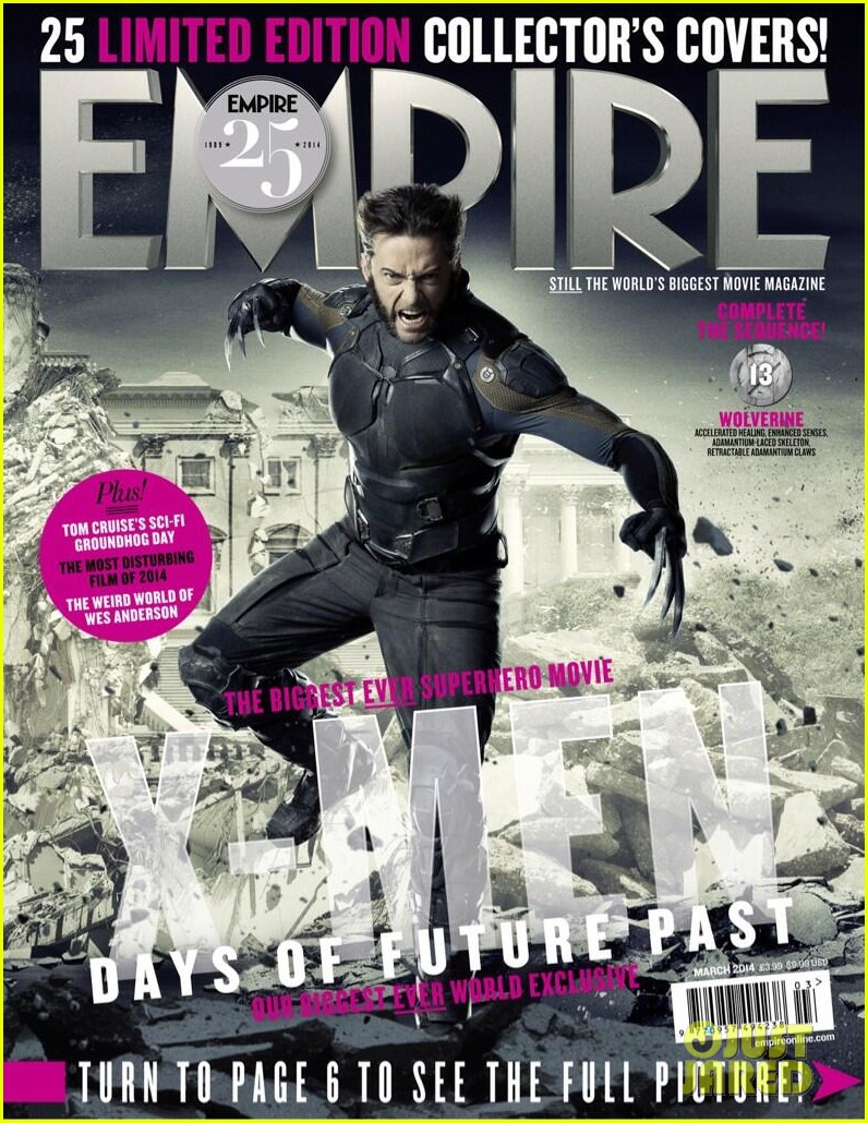 hugh jackman goes shirtless for empires x men mag covers 043042198