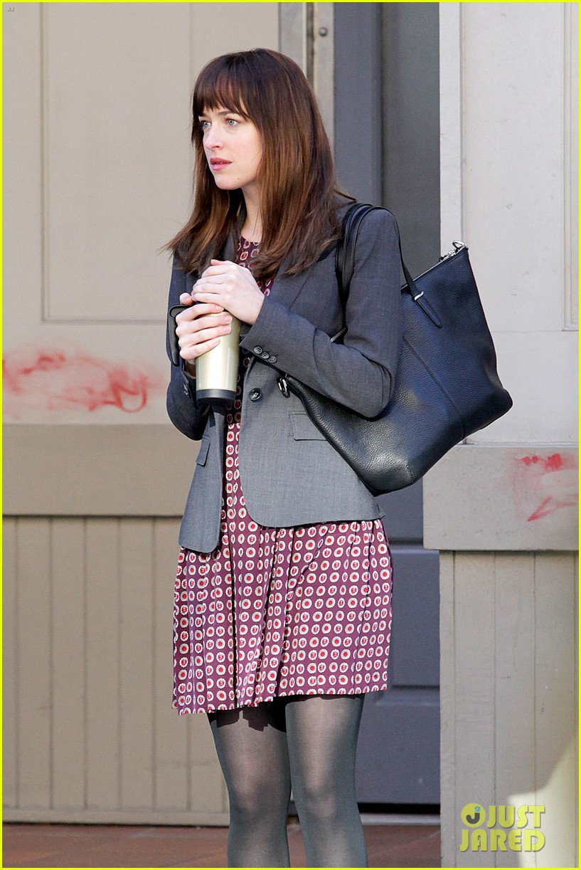 dakota johnson shoots fifty shades scenes with max martini 13