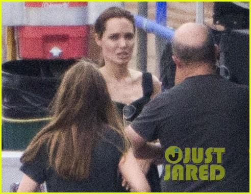angelina jolie continues directing unbroken in australia 253039273