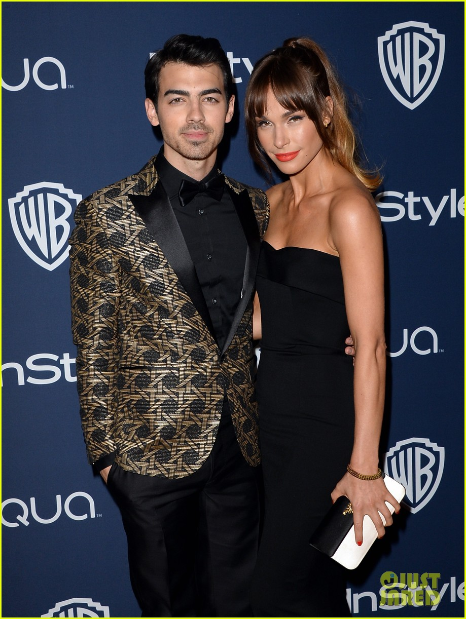 joe nick jonas bring girlfriends to golden globes parties 2014 02