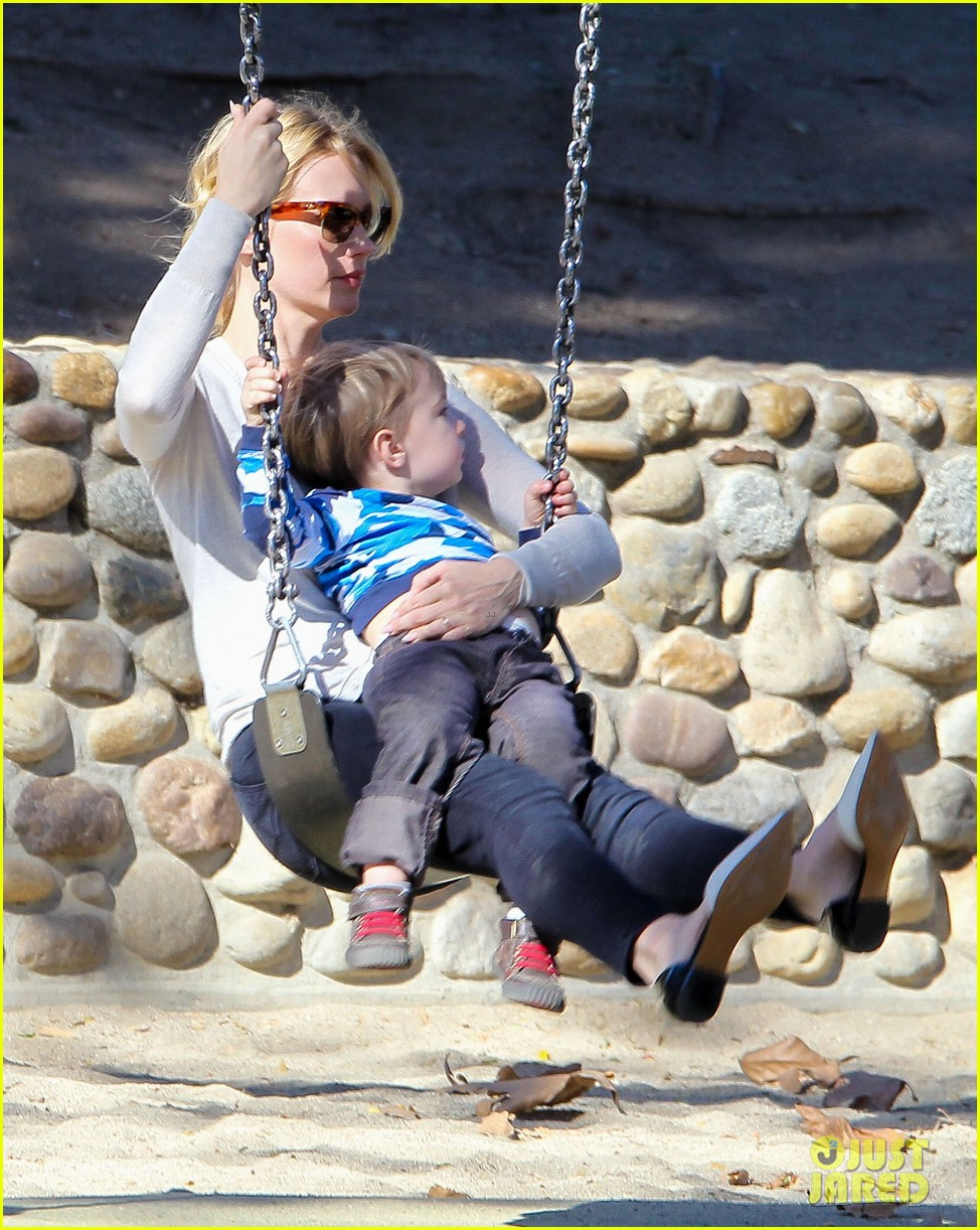 january jones joins instagram rides swings with xander 12