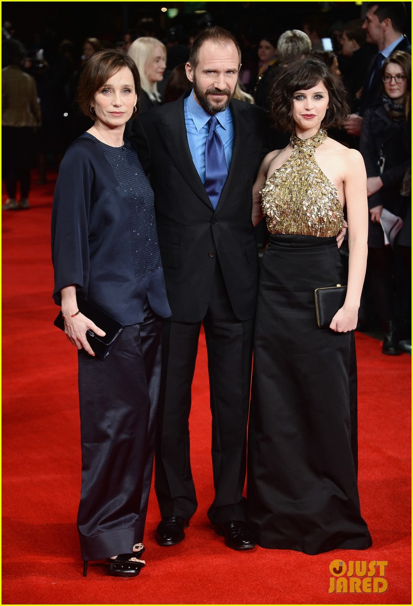 felicity jones ralph fiennes invisible woman uk premiere 223042173