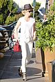 january jones vision in white for shopping trip 13