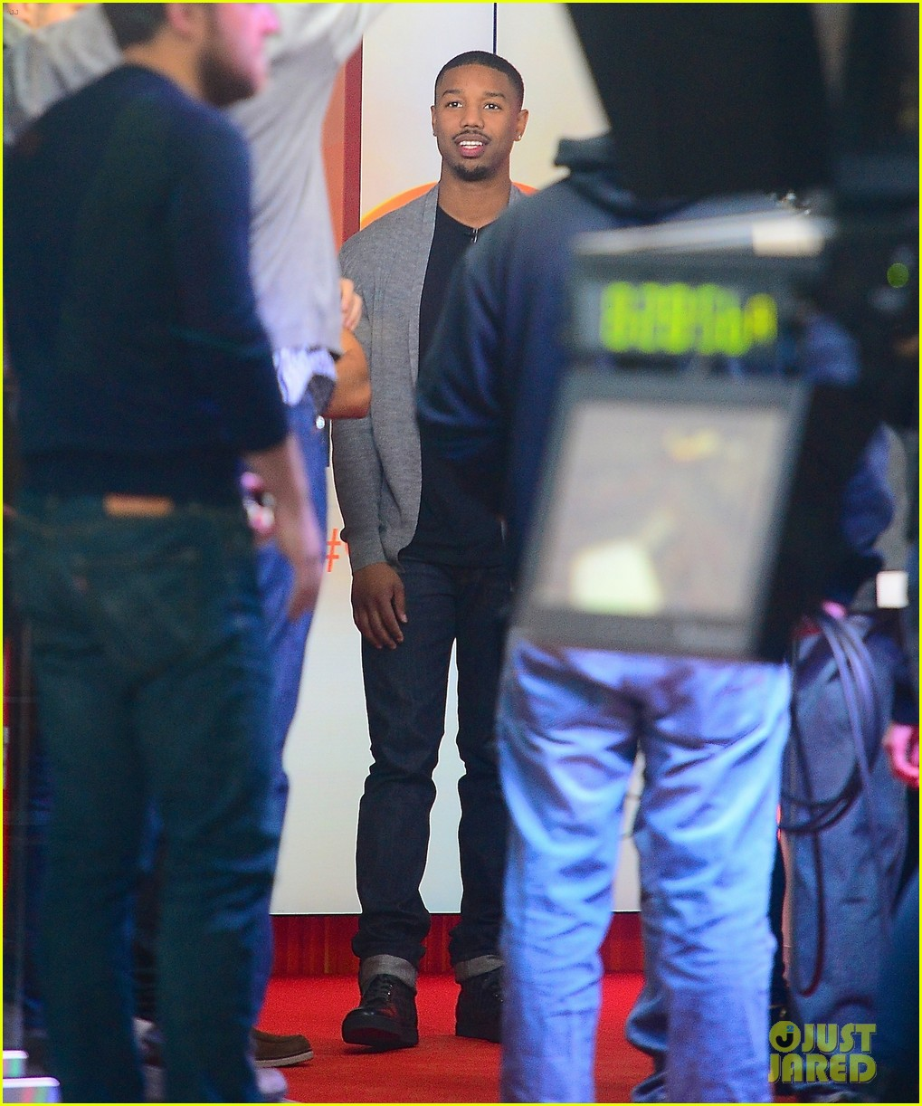 michael b jordan late show with david letterman visit 05
