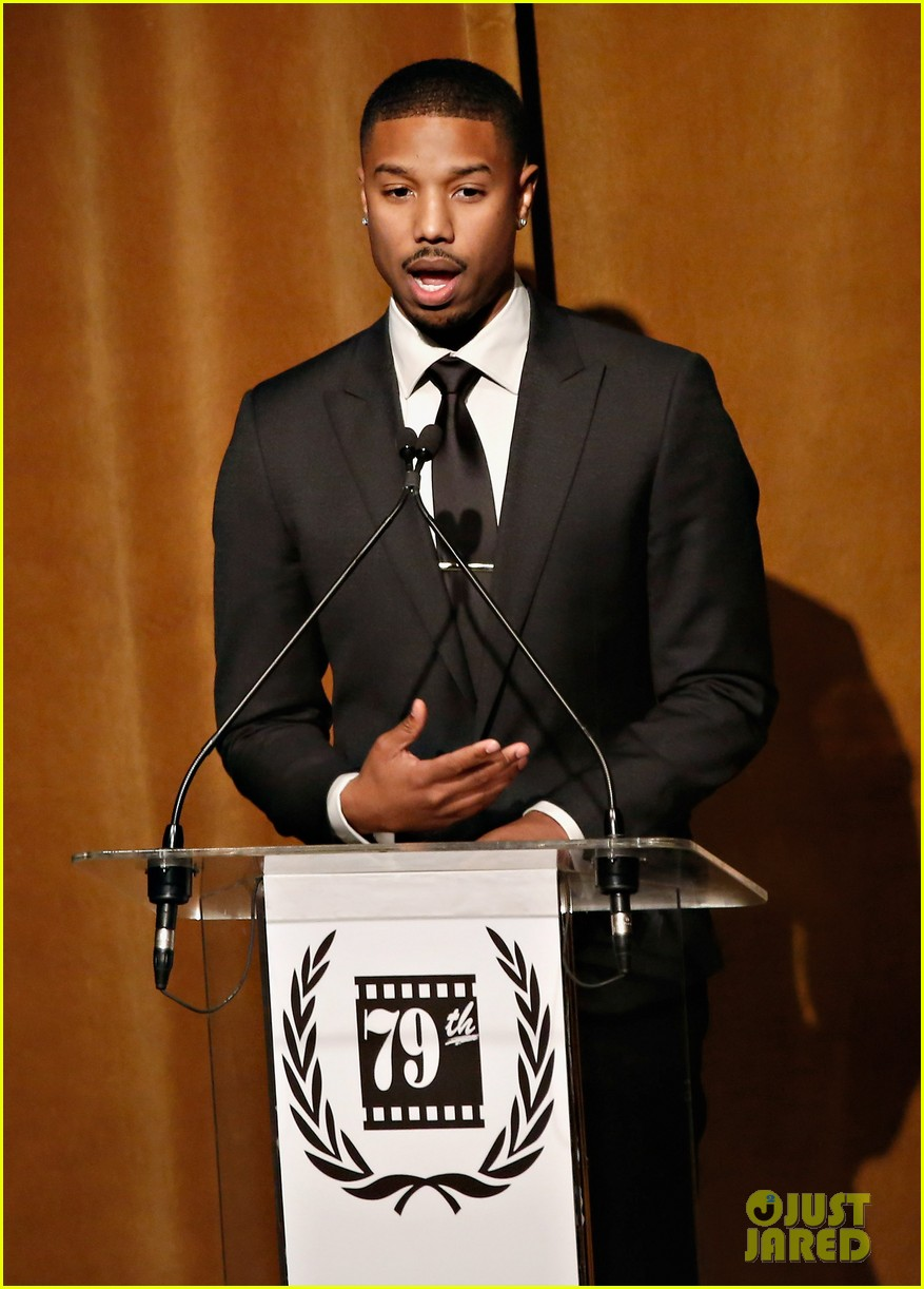 michael b jordan presents at nyfcc awards with fruitvale station co stars 103024463