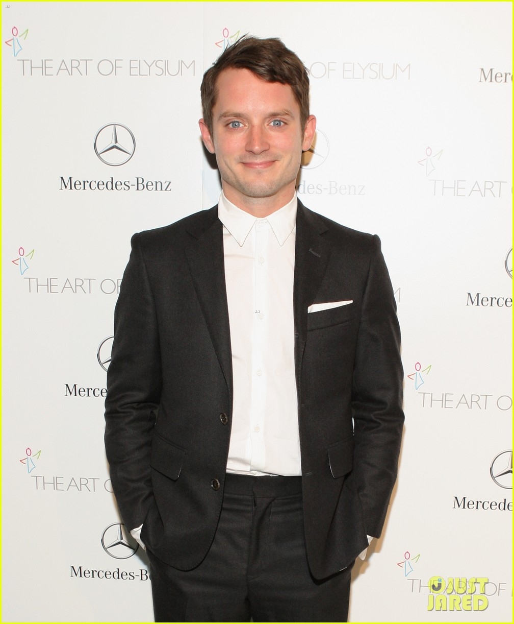 justin bartha elijah wood art of elysium heaven gala 033028639