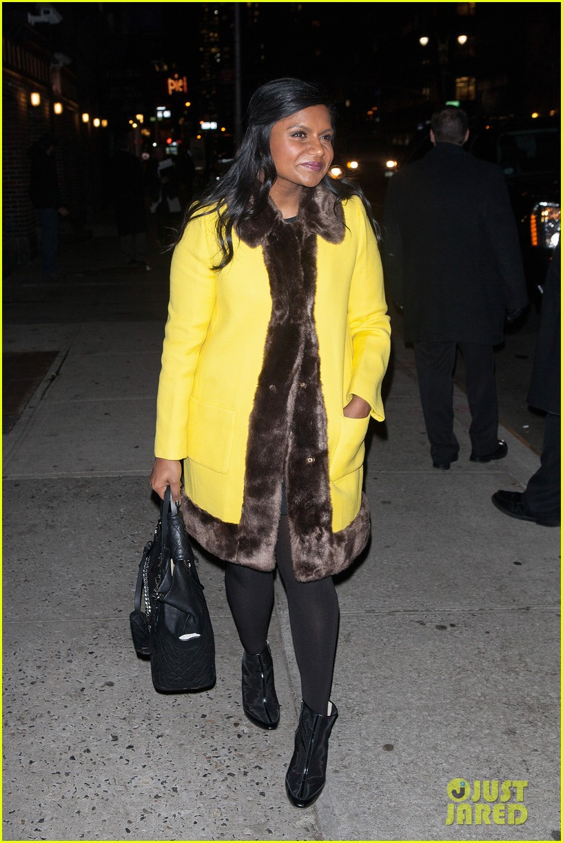 mindy kaling my elle made me feel glamorous cool 143026745