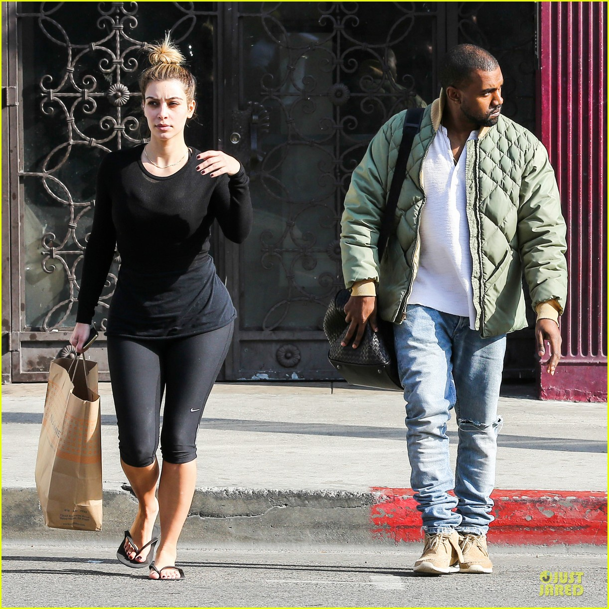 kim kardashian kanye weest shop together after new year 103022232