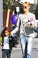heidi klum morning coffee run with daughter lou 10