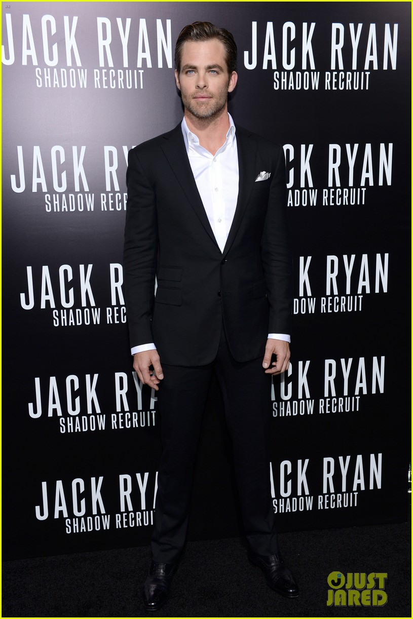 chris pine keira knightley jack ryan hollywood premiere 143032387