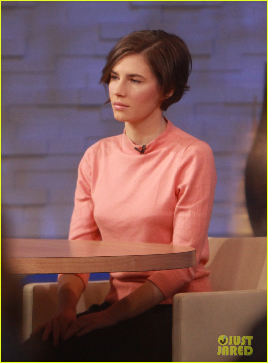 amanda knox on gma i will never go back to italy 08