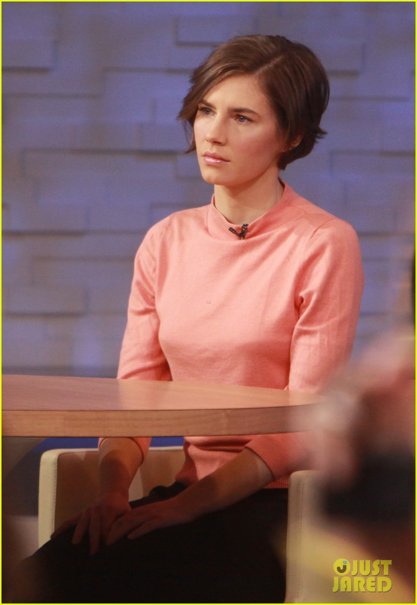 amanda knox on gma i will never go back to italy 113044863