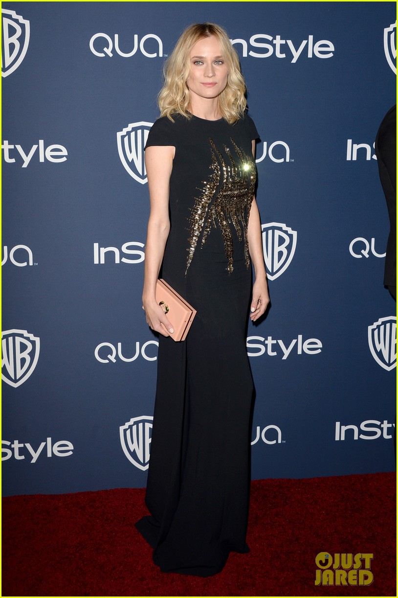 diane kruger instyle golden globes party 2014 053030051