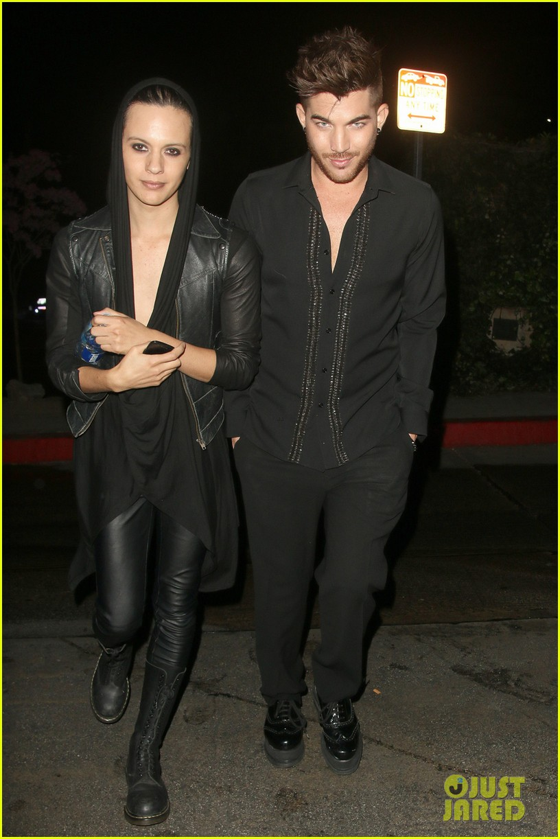 olivia munn adam lambert chateau marmont night out 093042056