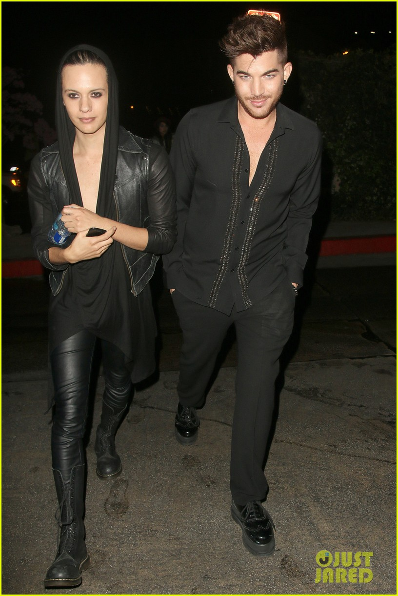 olivia munn adam lambert chateau marmont night out 10