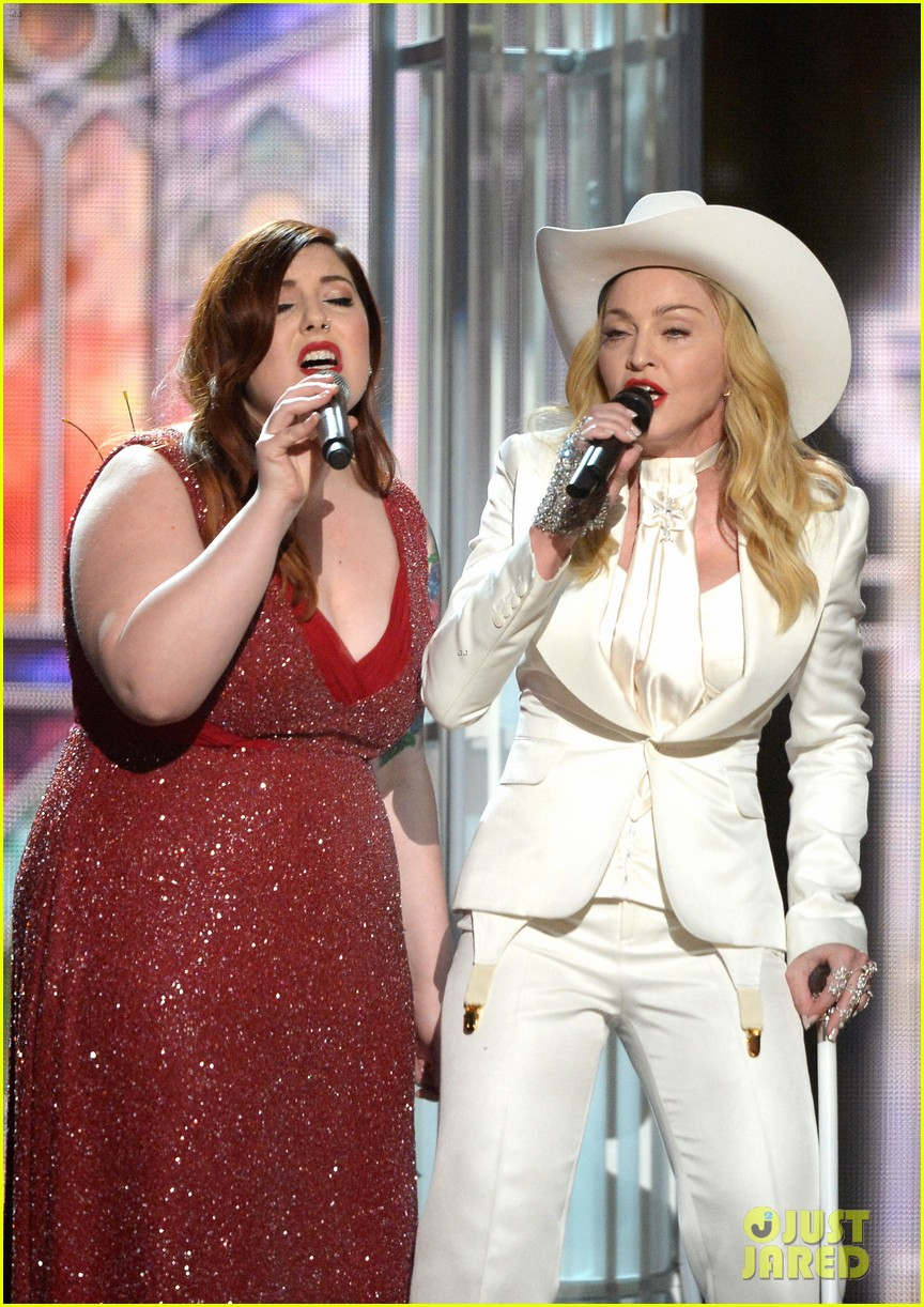 madonna queen latifah marry gay couples at grammys 2014 03