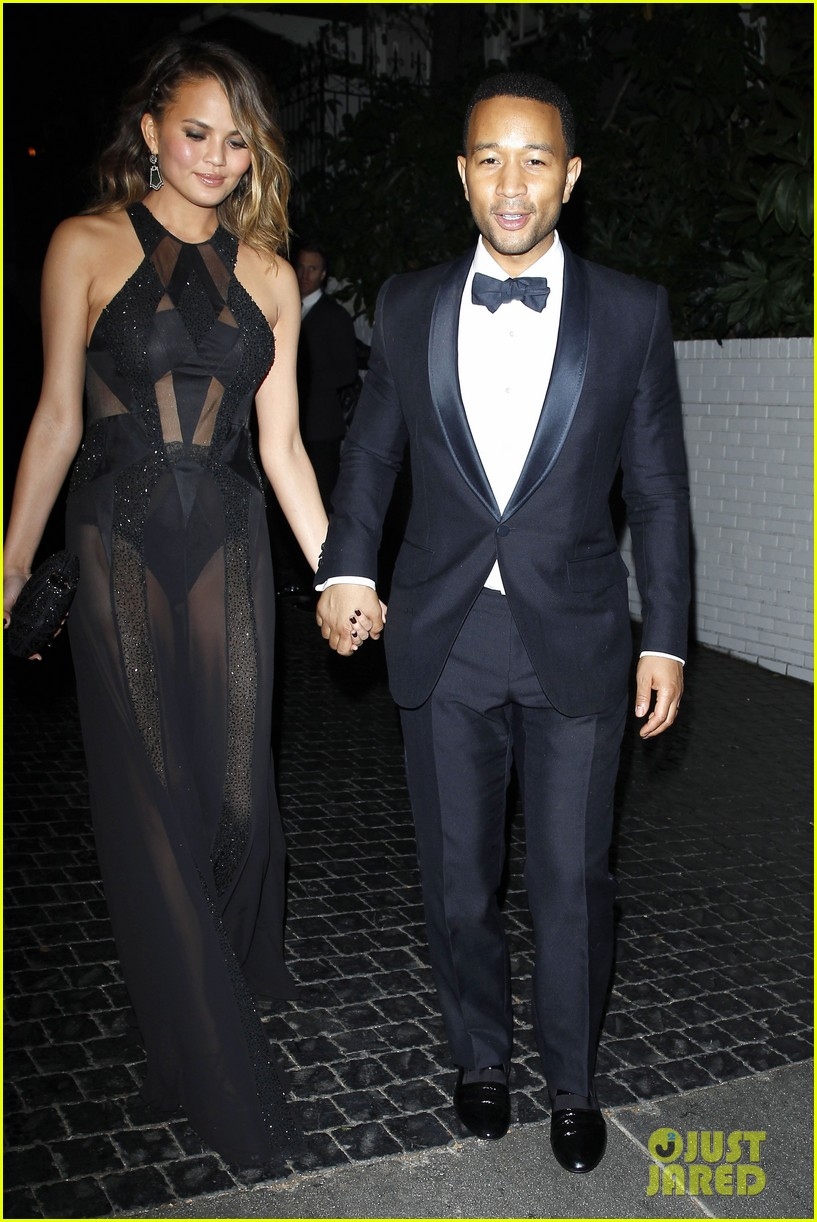 john legend chrissy teigen grammys 2014 after party 11