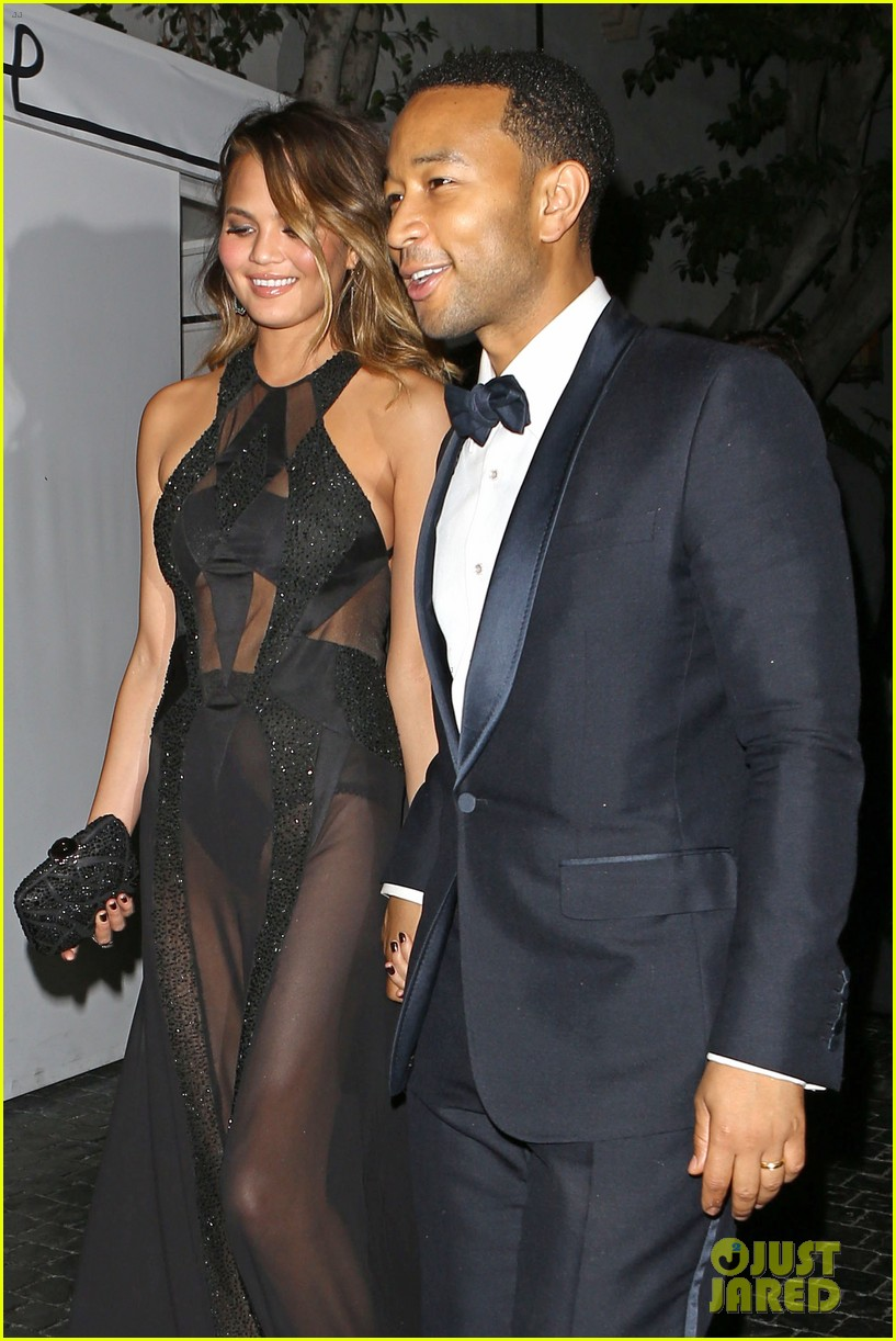 john legend chrissy teigen grammys 2014 after party 16
