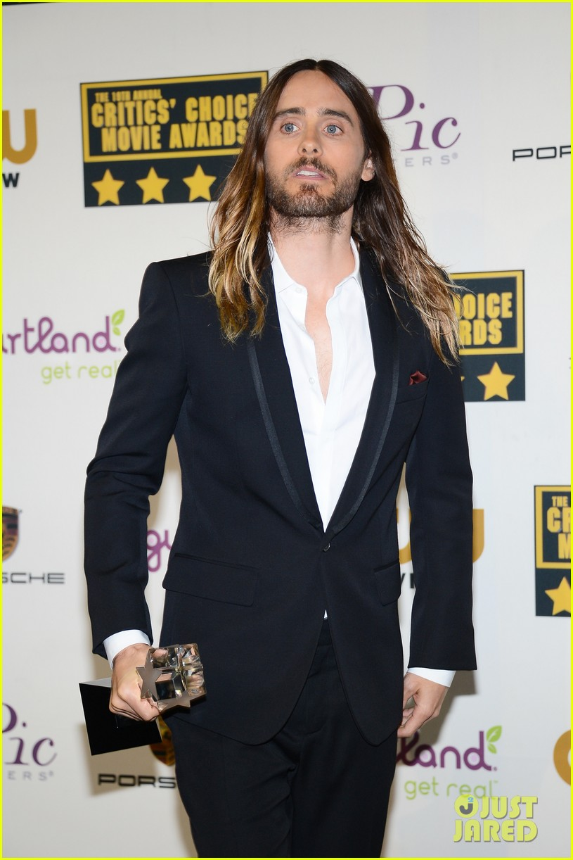 jared leto critics choice movie awards 2014 063033070