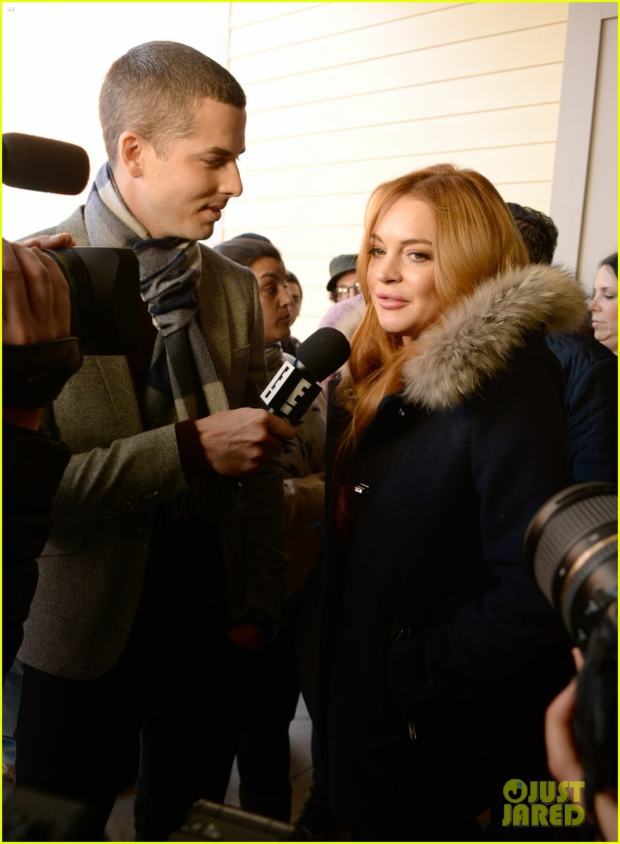 lindsay lohan announces new film inconceivable at sundance 11