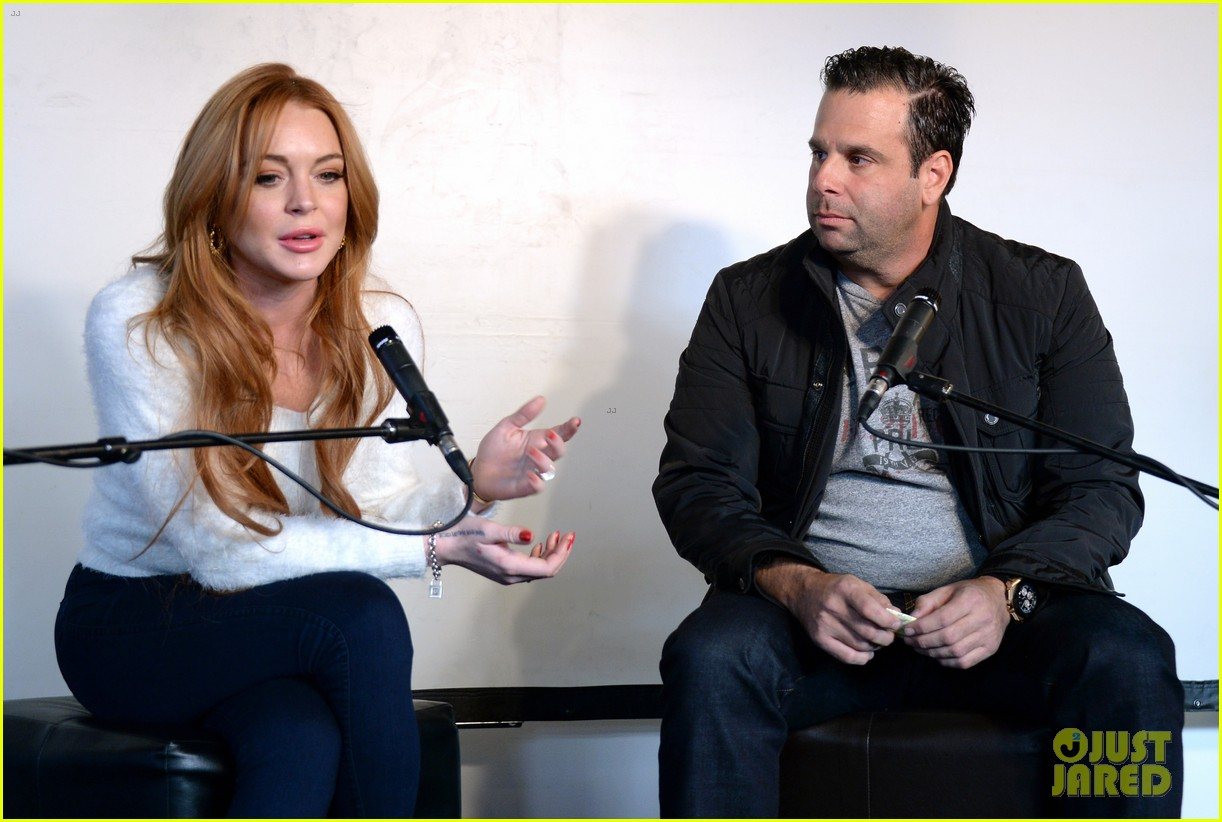 lindsay lohan announces new film inconceivable at sundance 24