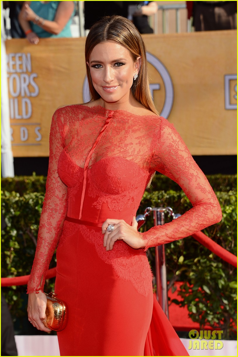 mario lopez nancy odell sag awards 2014 red carpet 083034551