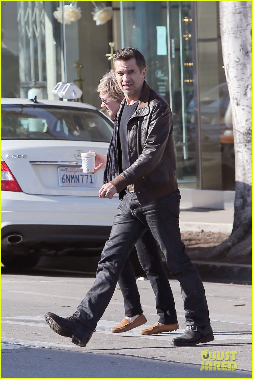 olivier martinez new years day with mother rosemarie 033021396