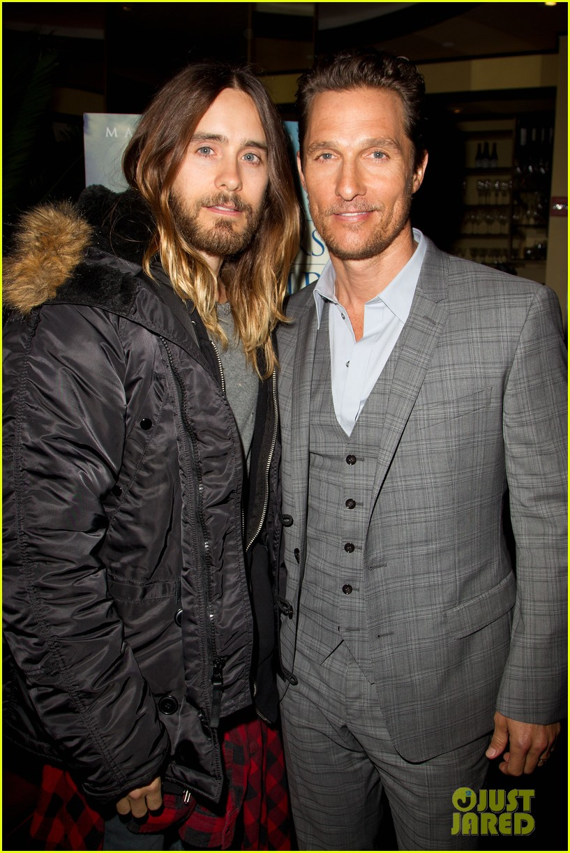 matthew mcconaughey jared leto dallas luncheon in nyc 20