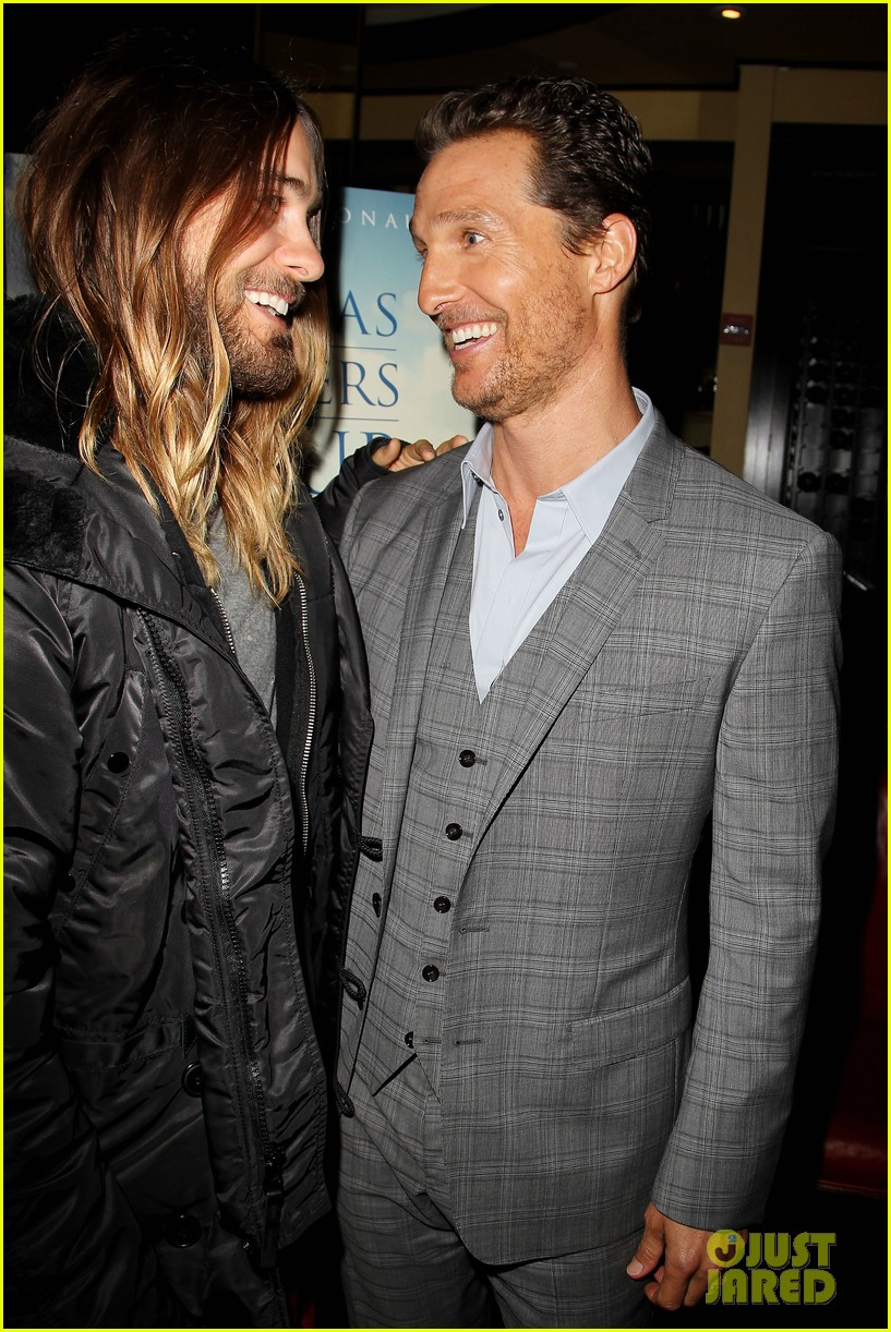 matthew mcconaughey jared leto dallas luncheon in nyc 21