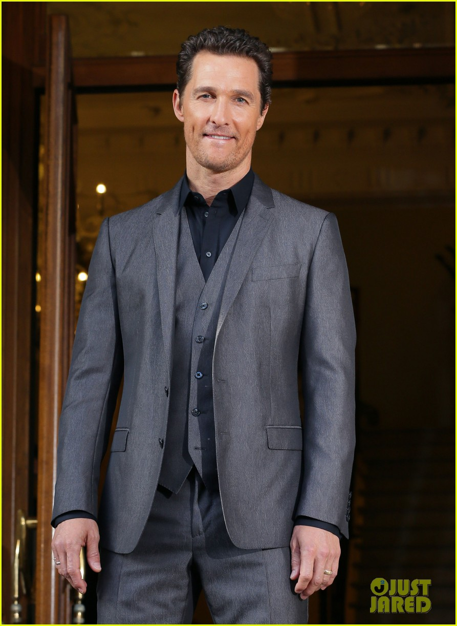 matthew mcconaughey dallas buyers club rome photo call 093042733