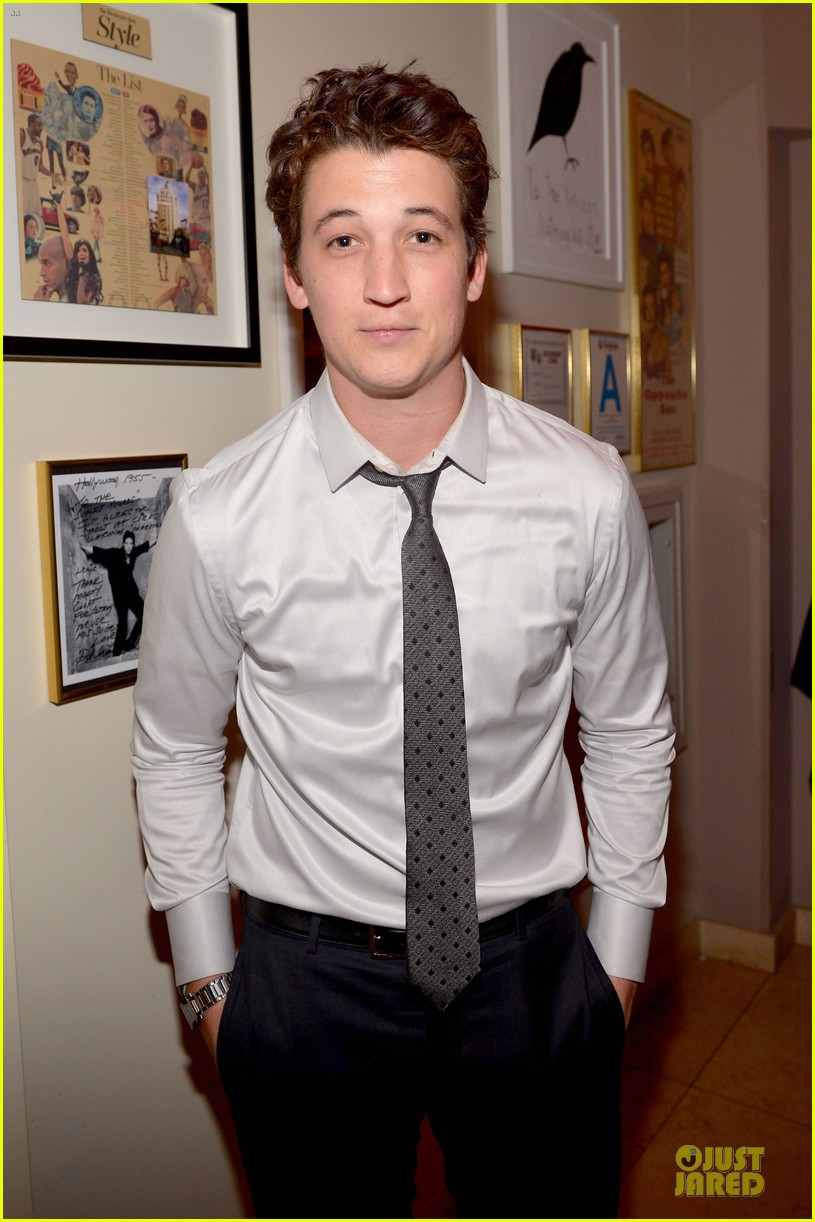 ben mckenzie miles teller warner music group grammys 2014 after party 02