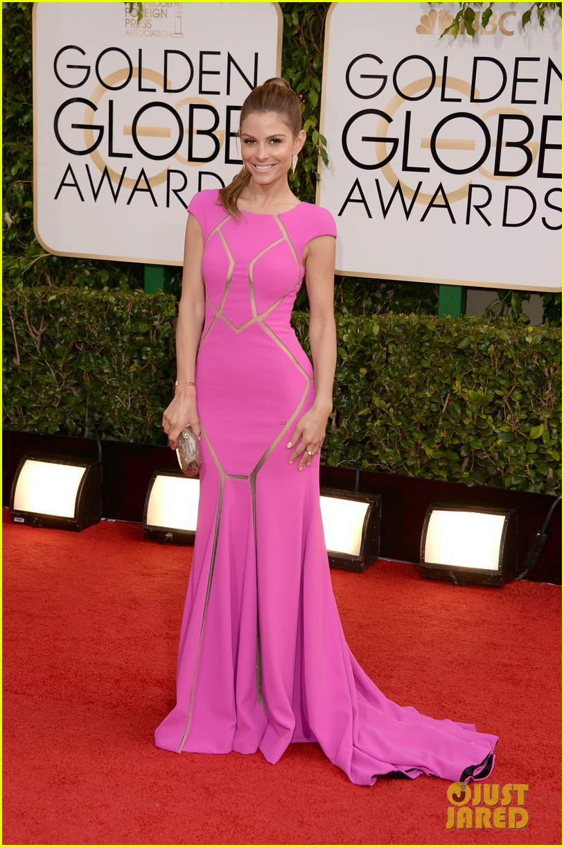 maria menounos golden globes 2014 red carpet 03