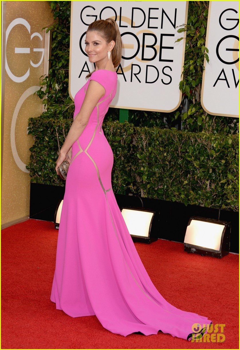 maria menounos golden globes 2014 red carpet 073029053