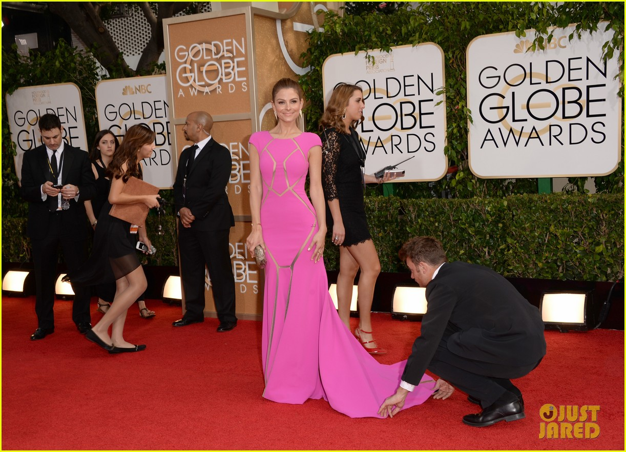 maria menounos golden globes 2014 red carpet 09