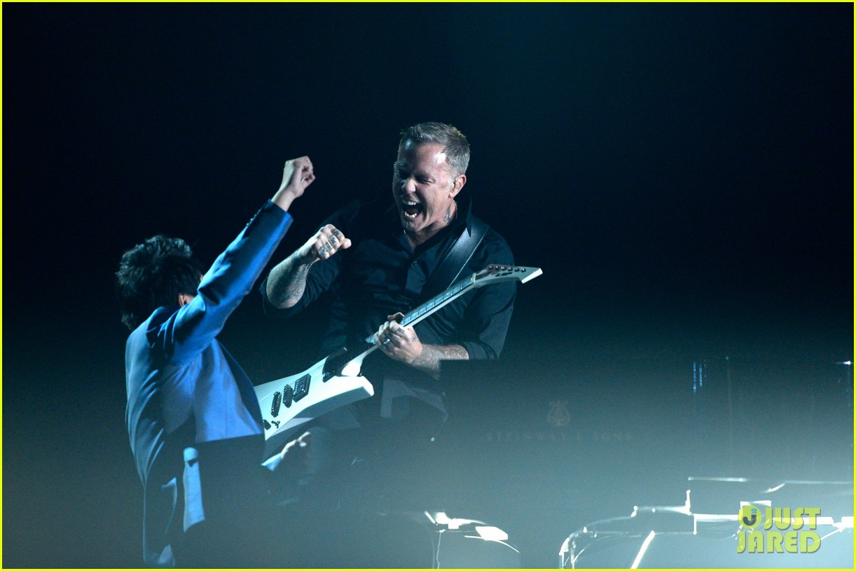 metallica one with lang lang at grammys 2014 video 103041704