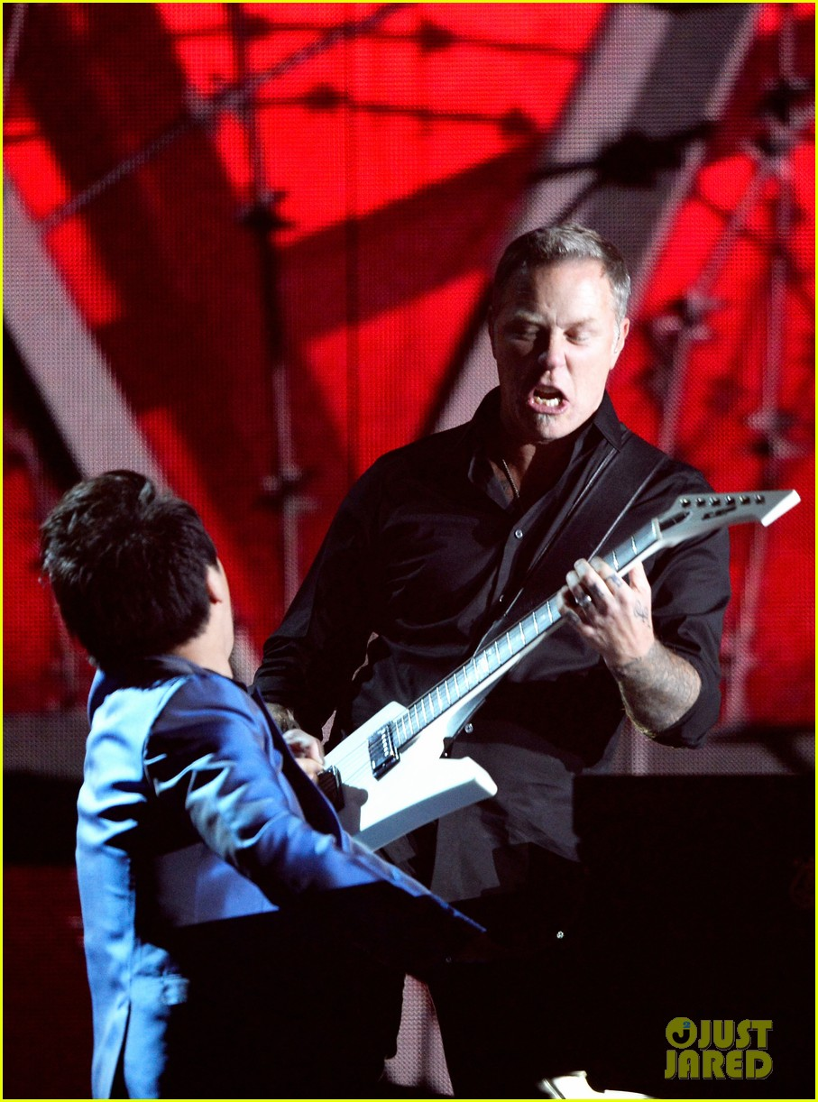 metallica one with lang lang at grammys 2014 video 123041706