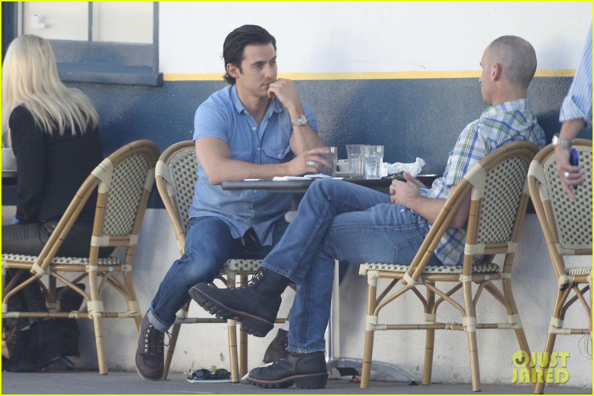 milo ventimiglia bares muscles for los angeles lunch 01