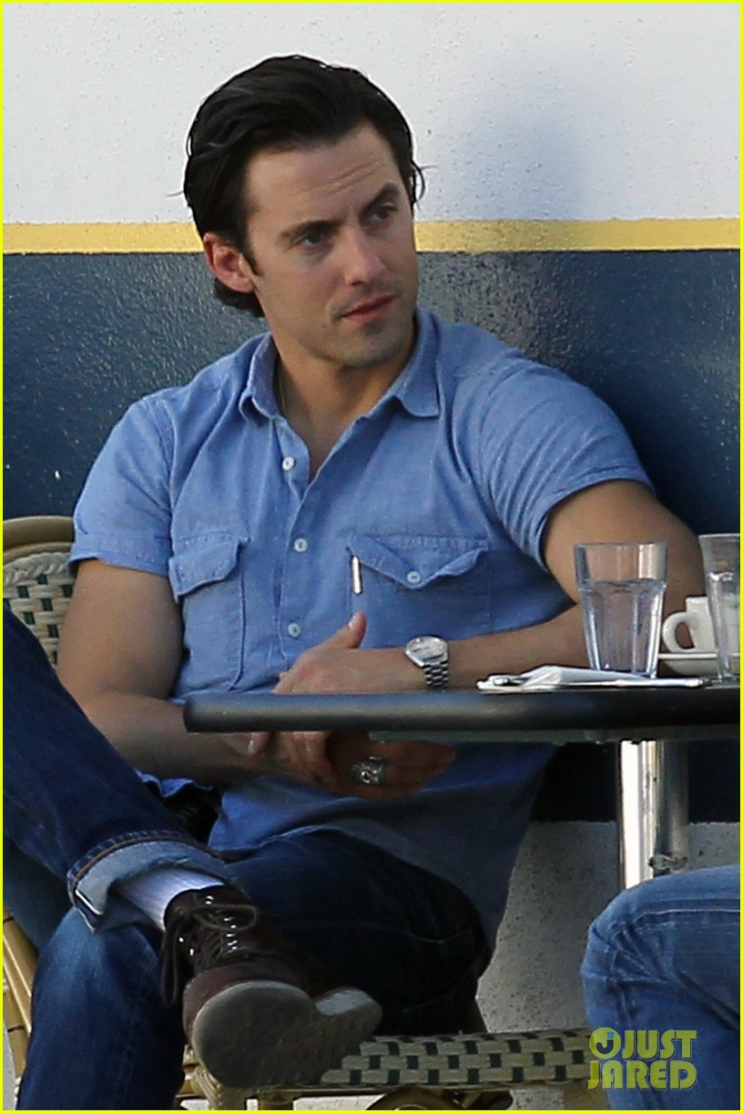 milo ventimiglia bares muscles for los angeles lunch 02