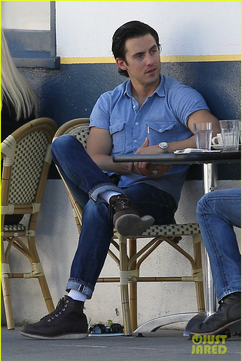 milo ventimiglia bares muscles for los angeles lunch 05