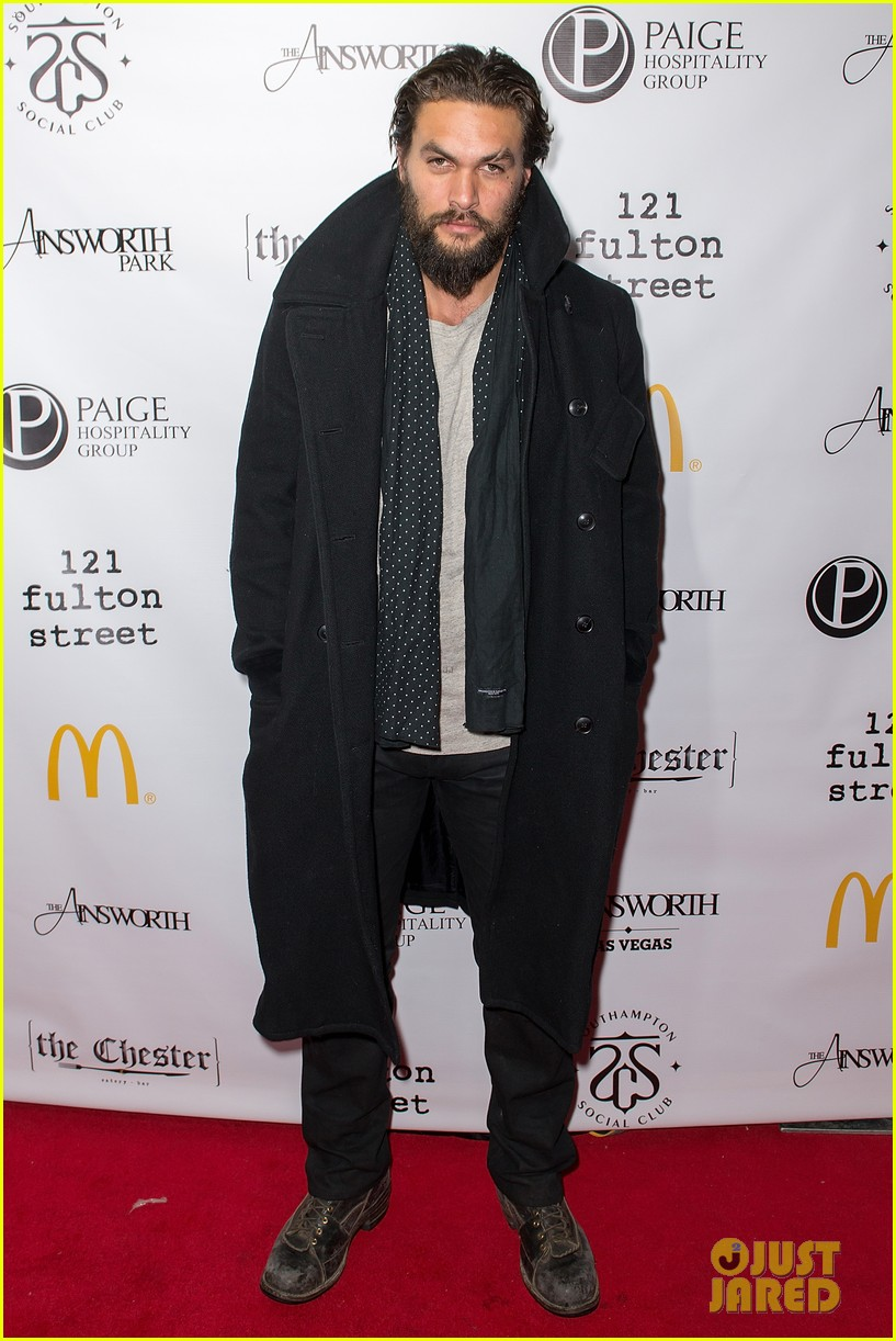 jason momoa geoff stults football fun at sundance 13