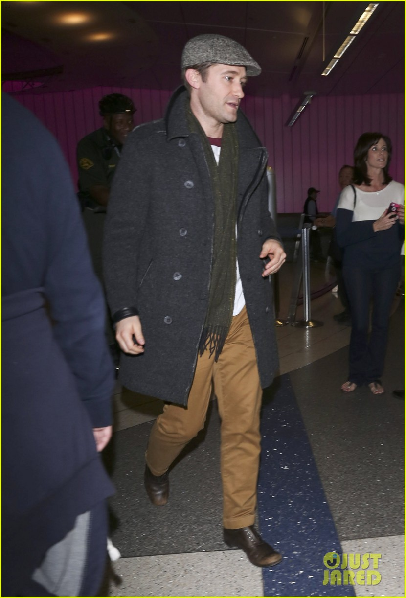 matthew morrison renee puente lax landing with jc chasez 08