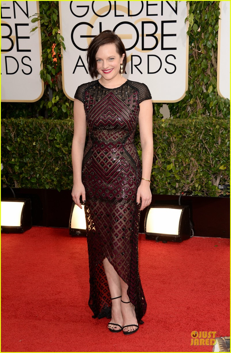 elisabeth moss golden globes 2014 red carpet 03