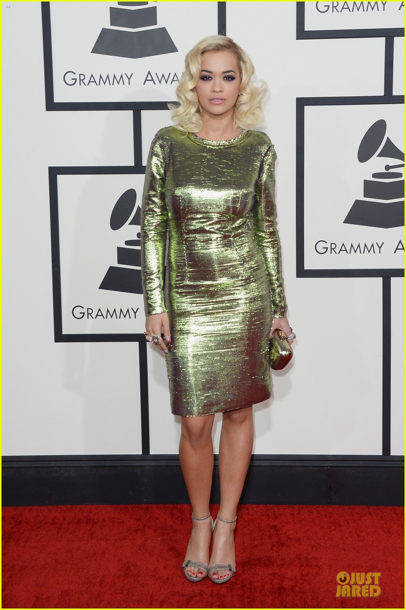 rita ora grammys 2014 red carpet 05