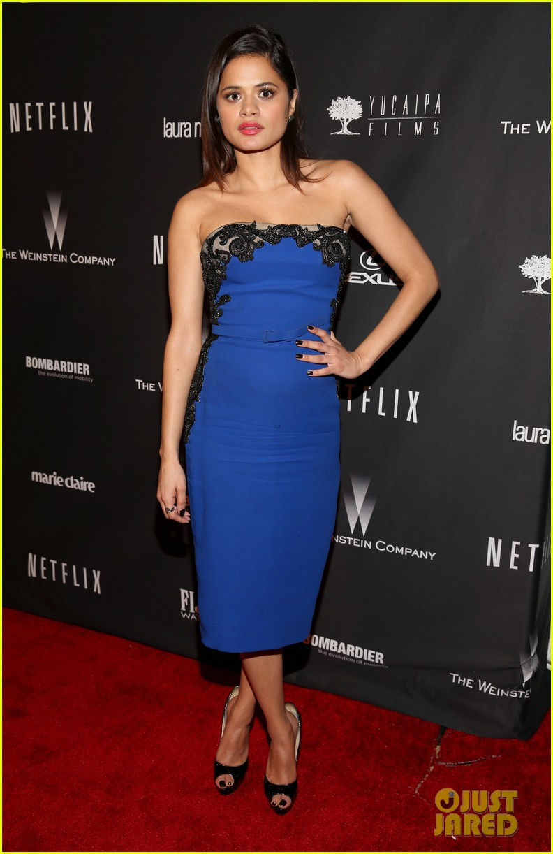 ahna oreilly melonie diaz weinstein golden globes party 2014 10