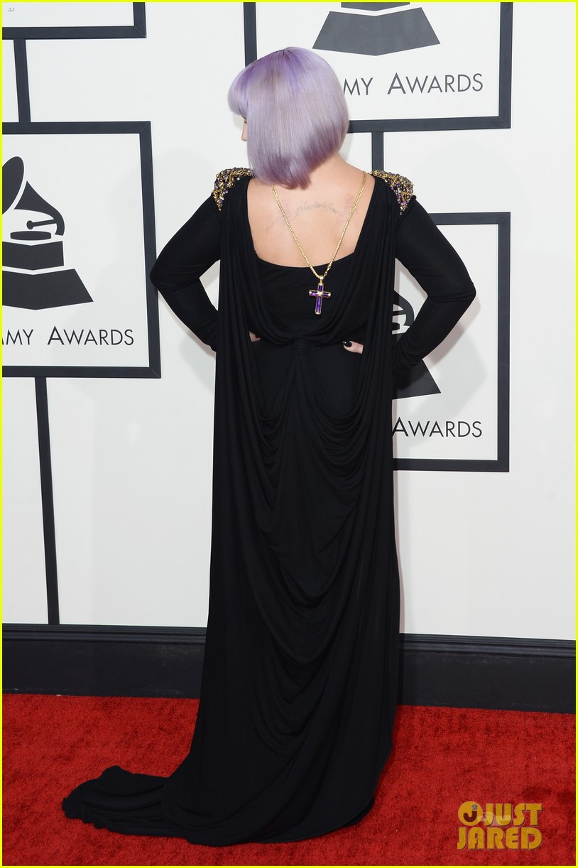 kelly osbourne grammys 2014 red carpet 143040939
