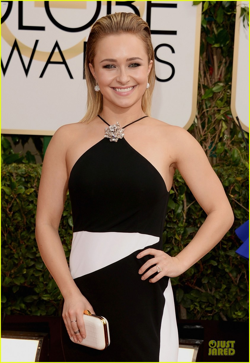 hayden panettiere golden globes 2014 red carpet 06