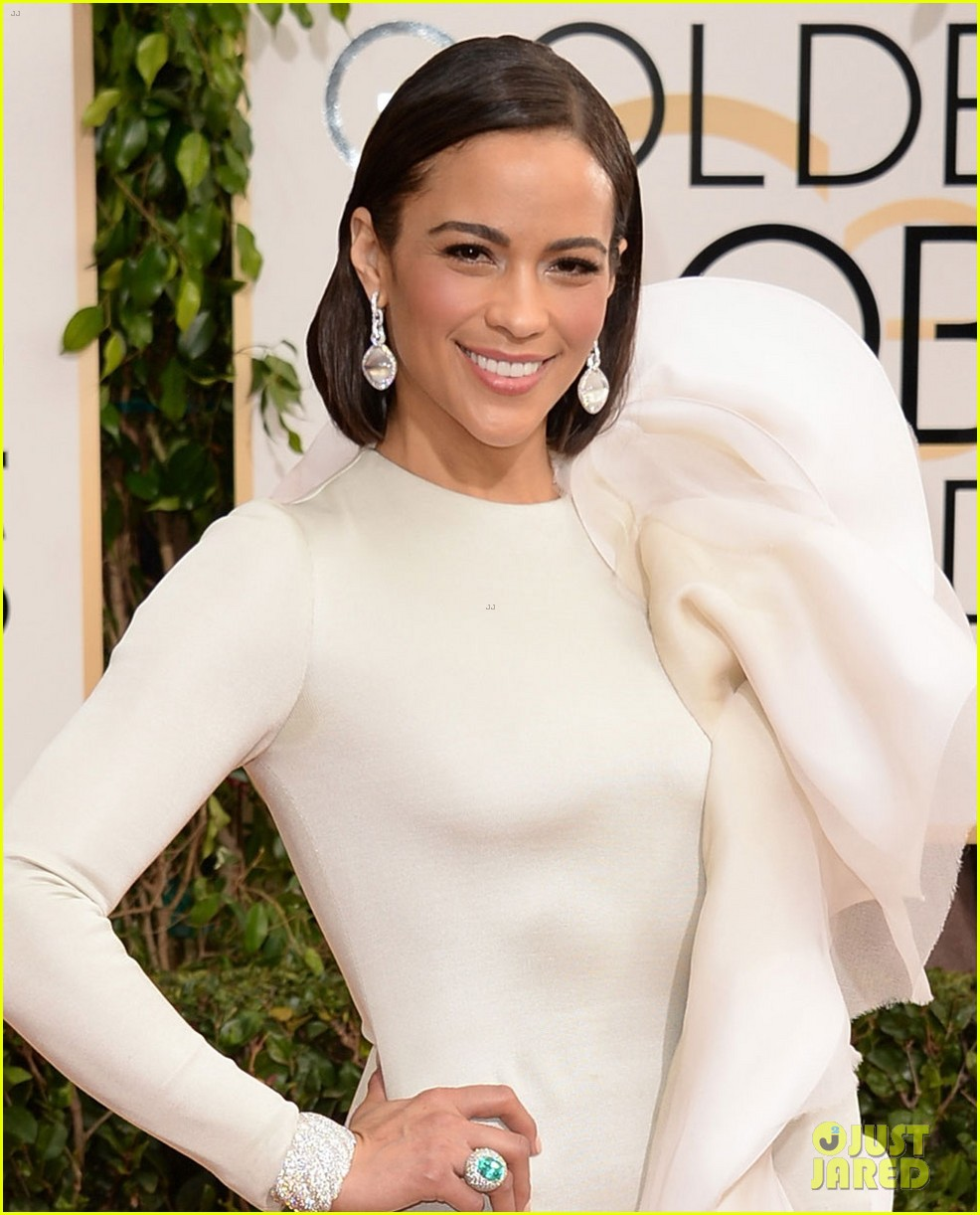 paula patton golden globes 2014 red carpet 023029352