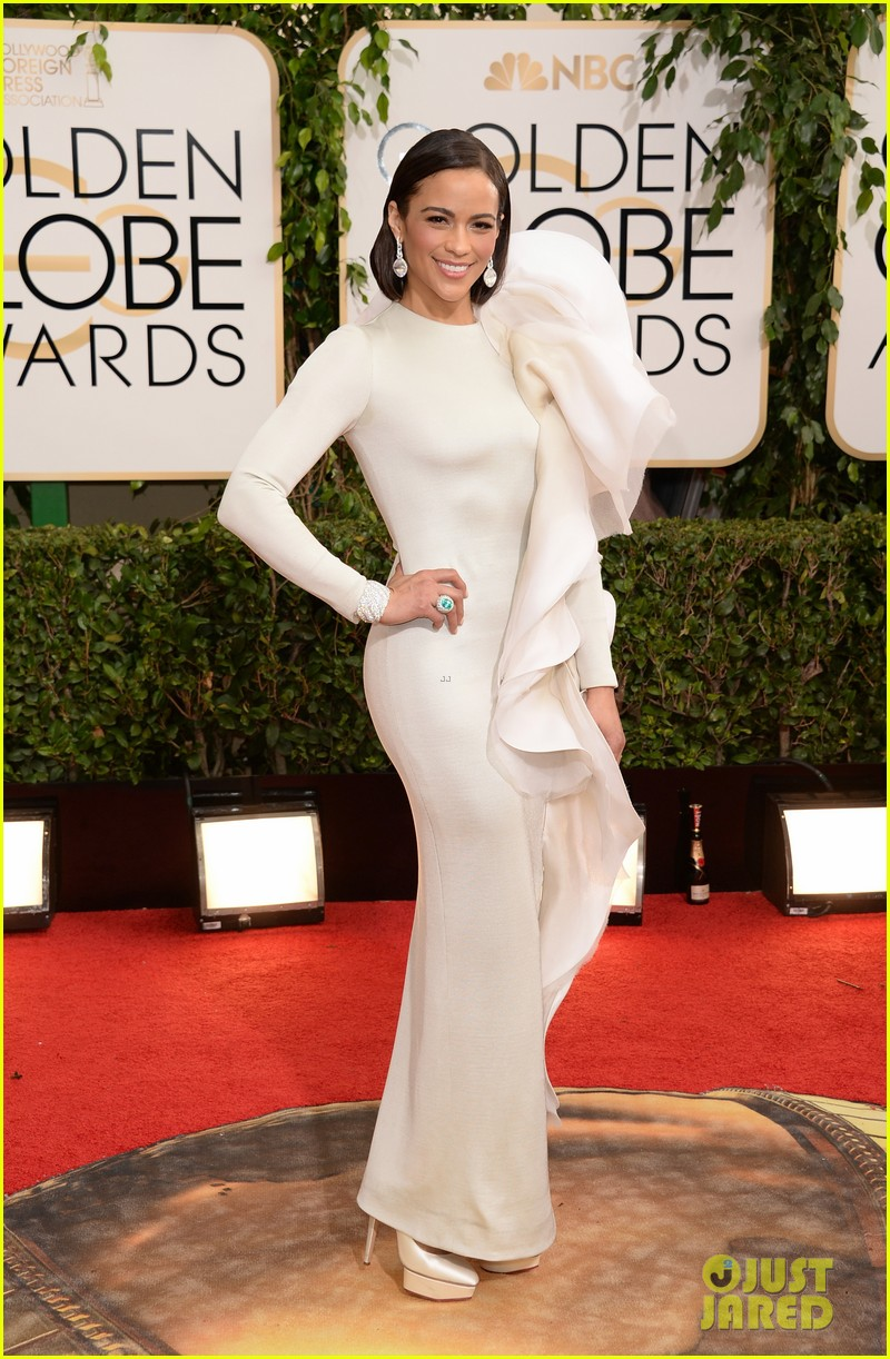 paula patton golden globes 2014 red carpet 05