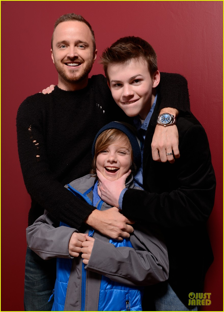 aaron paul hellion premiere at sundance film festival 2014 02